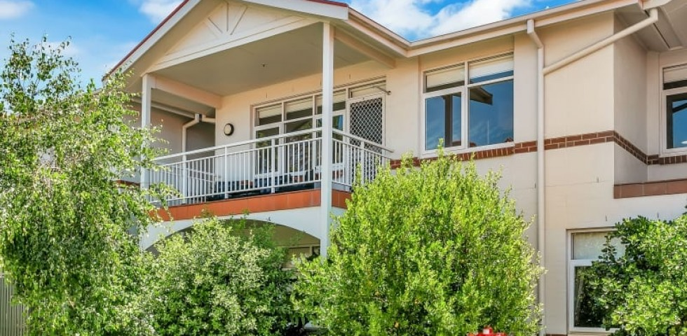 Glenelg retirement living unit front view