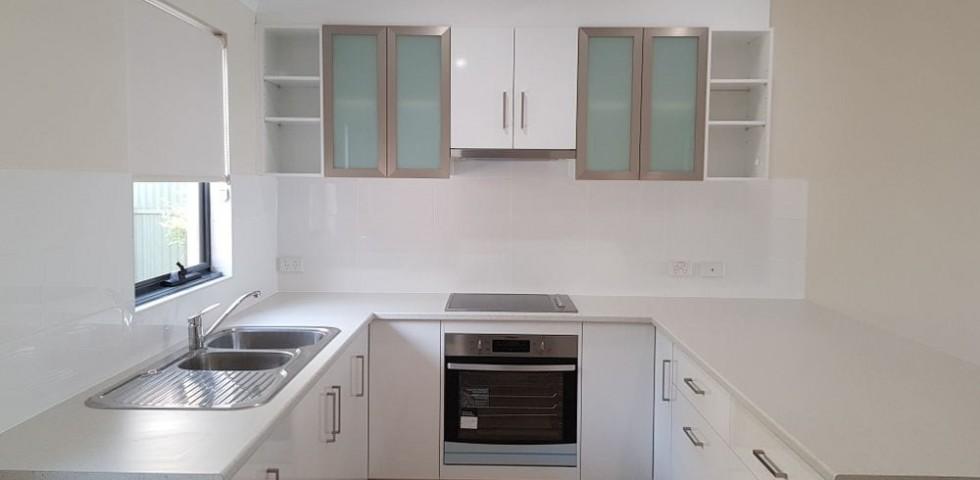 Marden retirement living unit kitchen side view