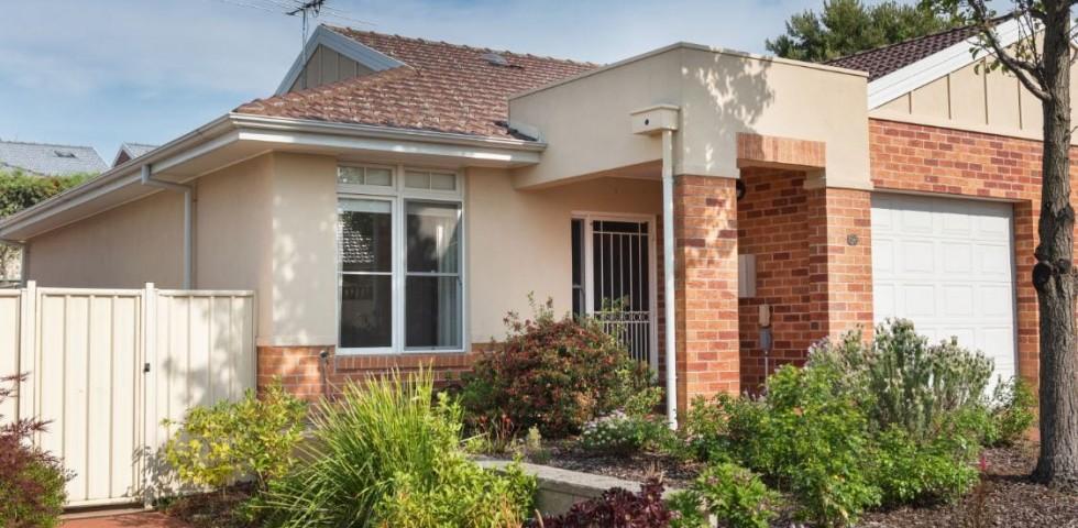 Campbelltown retirement living unit - front view