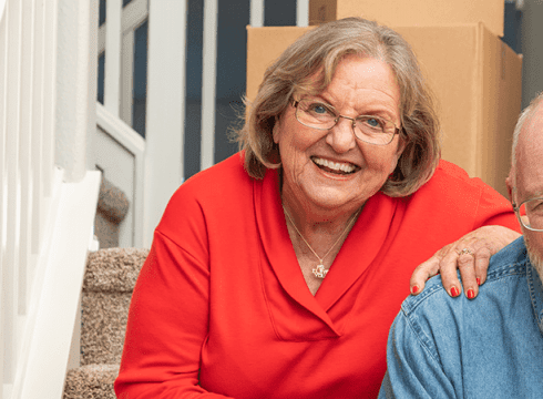 retired-couple-downsizing-for-retirement-living