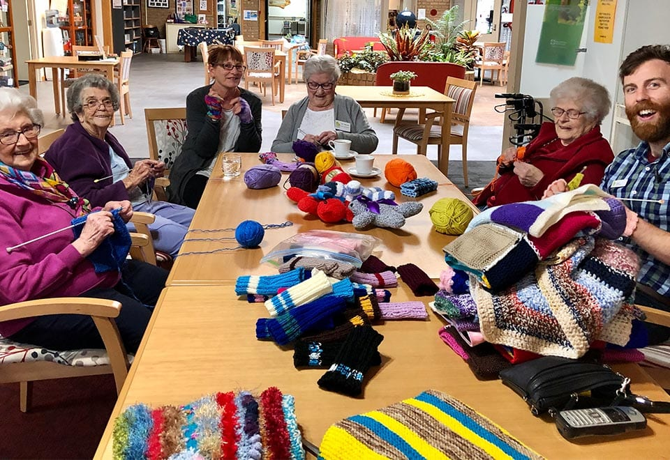 KnittingProjectACHPerryPark2020