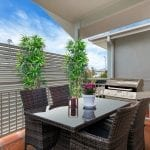 Kapara Balcony with dining and bbq