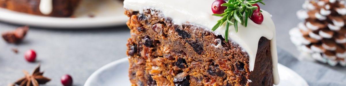 Christmas fruit cake recipe