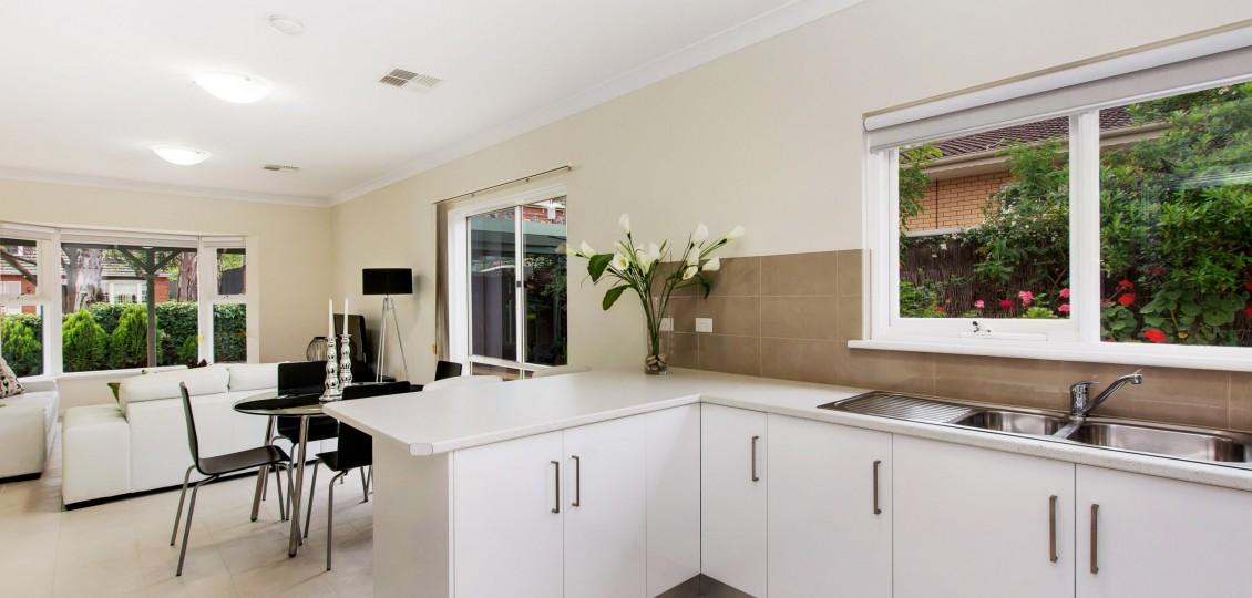 Kensington Gardens retirement living modern kitchen