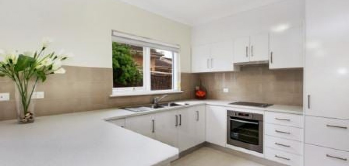 Kensington Gardens retirement living modern kitchen space