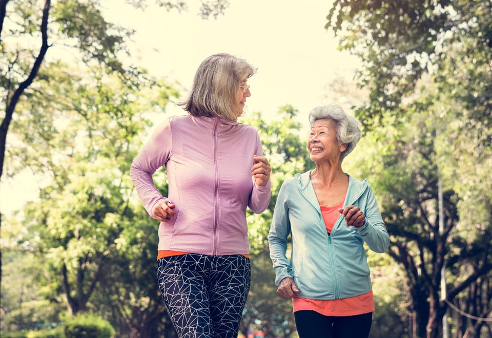 Benefits of walking to your health