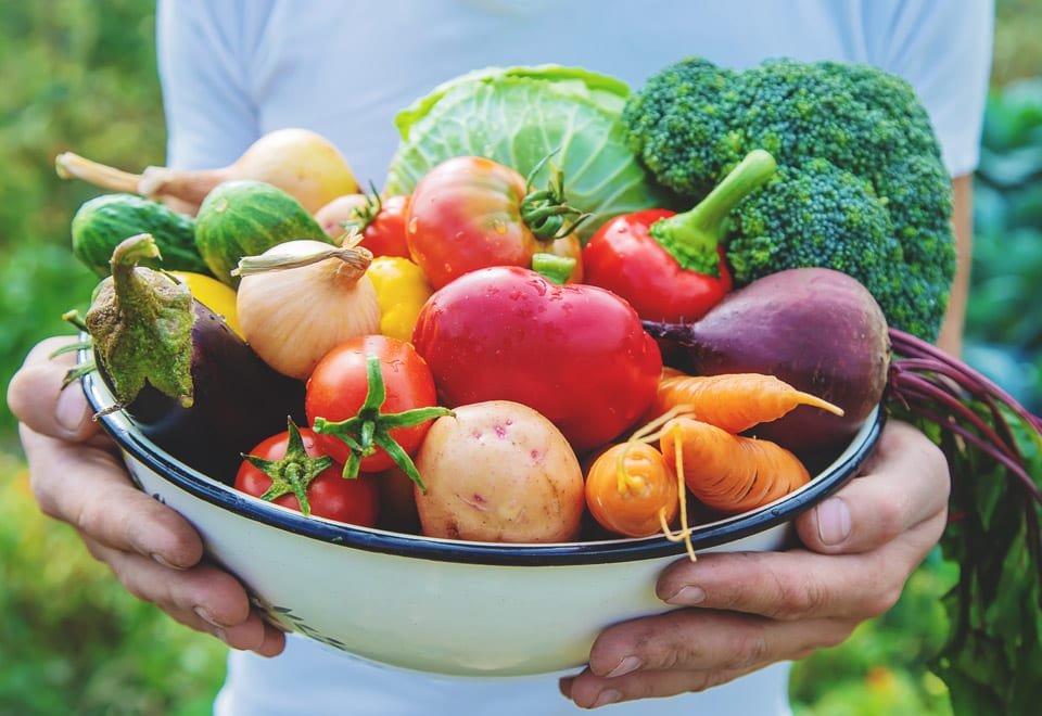 Fruits and veggies intake is good for preventing diet-related diseases