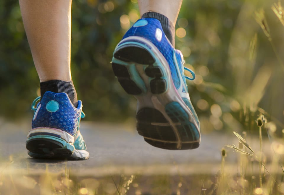 You need the right walking shoes to get started